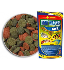 TROPICAL MINI WAFERS MIX 90G